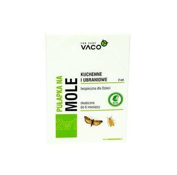 Vaco – Pułapka na mole ubraniowe i spożywcze (2 szt.)