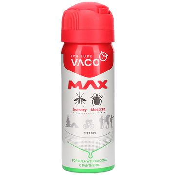 Vaco – Max Spray na komary kleszcze meszki (50 ml)