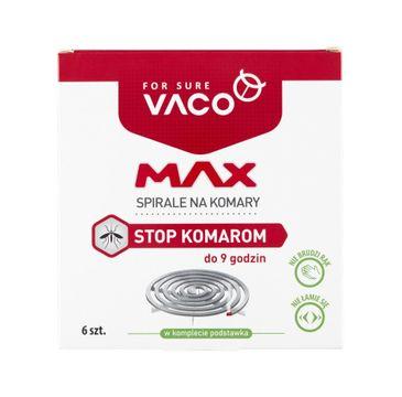Vaco – Spirale na komary MAX do 9 godzin (6 szt.)