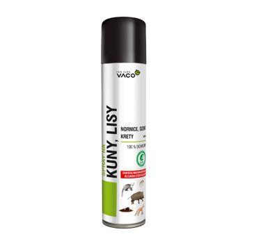 Vaco Spray na kuny lisy nornice dziki i krety 300ml