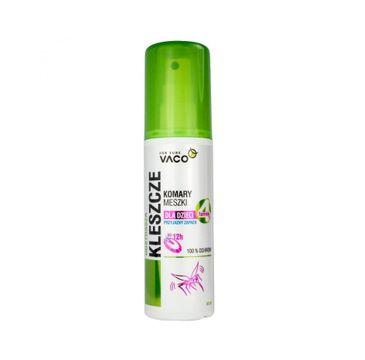 Vaco Spray odstraszający kleszcze dla dzieci 80ml