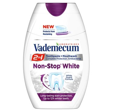 Vademecum 2w1 Non-Stop White pasta do zębów 75 ml
