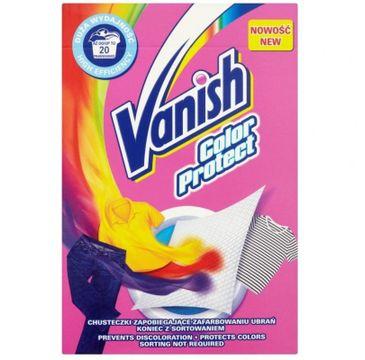 Vanish Color Protect - chusteczki wyłapujące barwnik 20 prań