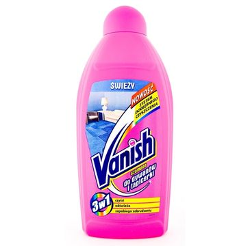 Vanish Szampon 3w1 do prania ręcznego dywanów i tapicerki śweży 500ml