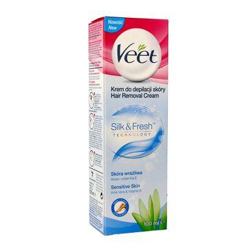 Veet - krem do depilacji 3 min. do skóry wrażliwej (100 ml)