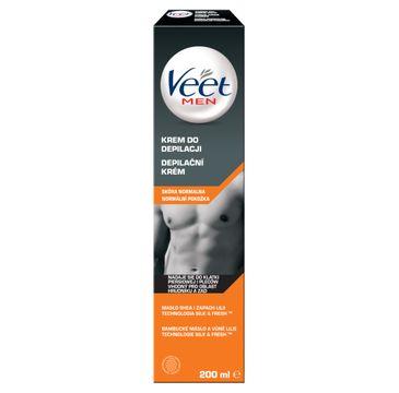 Veet – Men krem do depilacji dla mężczyzn skóra normalna (200 ml)