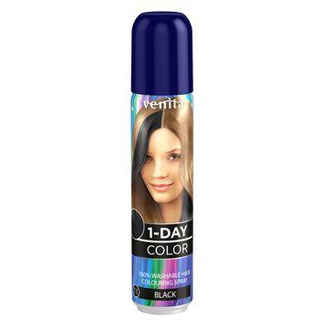 Venita 1-Day Color koloryzuj膮cy spray do w艂os贸w Czarny 50ml