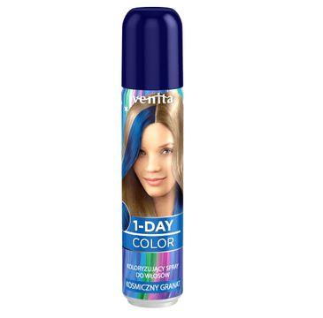 Venita 1-Day Color koloryzuj膮cy spray do w艂os贸w Kosmiczny Granat 50ml