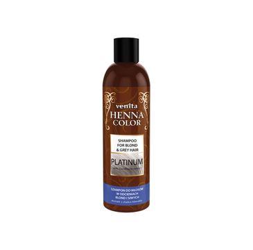 Venita Henna Color Platinium szampon ziołowy do włosów w odcieniach blond i siwych (250 ml)