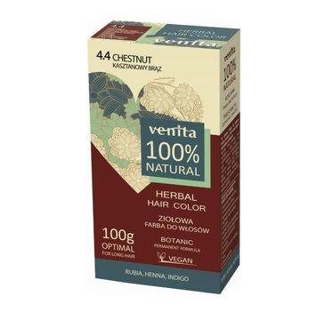 Venita Herbal Hair Color ziołowa farba do włosów 4.4 Kasztanowy Brąz (100 g)