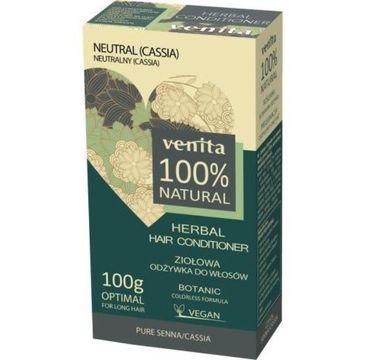 Venita Herbal Hair Conditioner ziołowa odżywka do włosów 2x50g