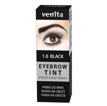 Venita Professional Eyebrow Tint farba do brwi w proszku 1.0 Black