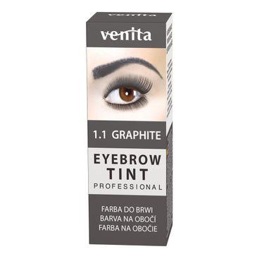 Venita Professional Eyebrow Tint farba do brwi w proszku Graphite