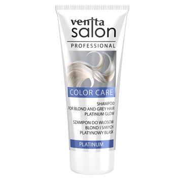 Venita Salon Professional Color Care szampon do włosów blond i siwych Platinium 200ml