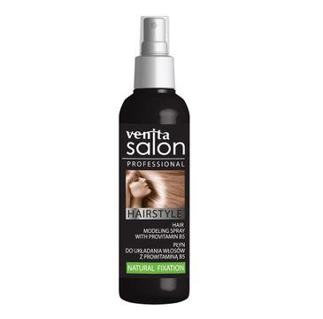 Venita Salon Professional Hairstyle płyn do układania włosów kręconych i prostych Natural Fixation 130ml