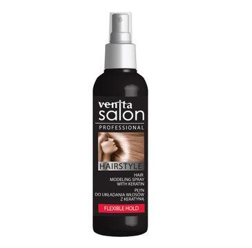 Venita Salon Professional Hairstyle płyn do układania włosów z keratyną Flexible Hold 130ml