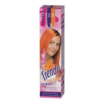 Venita Trendy Color Mousse pianka koloryzuj膮ca do w艂os贸w 24 Z艂oty Oran偶 75ml
