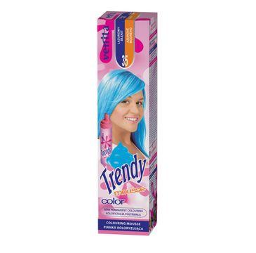 Venita Trendy Color Mousse pianka koloryzująca do włosów 35 Lazurowy Błękit 75ml