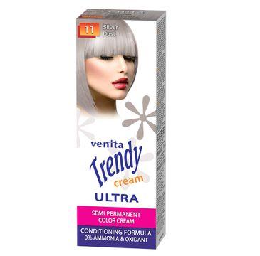 Venita Trendy Cream Ultra krem do koloryzacji włosów 11 Silver