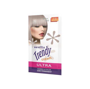 Venita Trendy Cream Ultra krem do koloryzacji włosów 11 Silver Dust (35 ml)