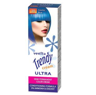 Venita Trendy Cream Ultra krem do koloryzacji włosów 39 Cosmic Blue