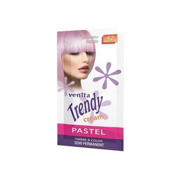 Venita Trendy Cream Ultra krem do koloryzacji włosów 42 Lavender Dream (35 ml)