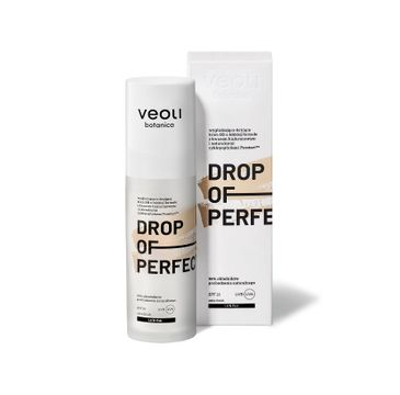 Veoli Botanica Drop Of Perfection SPF20 wygładzająco-kryjący krem BB o lekkiej formule 1.0 N-Fair (30 ml)