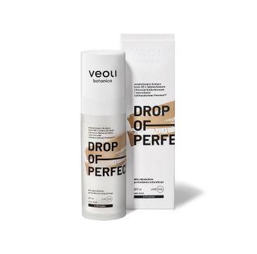 Veoli Botanica Drop Of Perfection SPF20 wygładzająco-kryjący krem BB o lekkiej formule 4.0 N-Amber (30 ml)