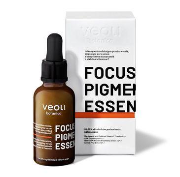 Veoli Botanica Focus Pigmentation Essence intensywnie redukujące przebarwienia i zwężające pory serum z kompleksem niacynamid + stabilna witamina C (30 ml)
