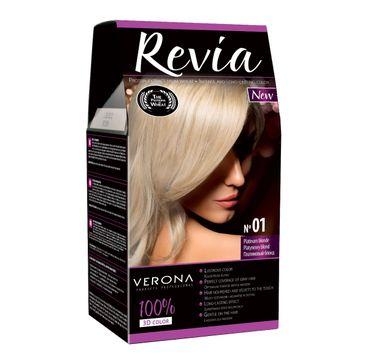 Verona Farba do każdego typu włosów nr 01 platynowy blond 50 ml