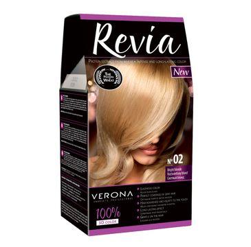 Verona farba do każdego typu włosów nr 02 rozświetlony blond 50 ml