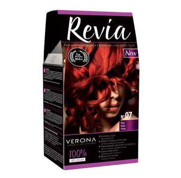 Verona farba do każdego typu włosów nr 07 rubin 50 ml