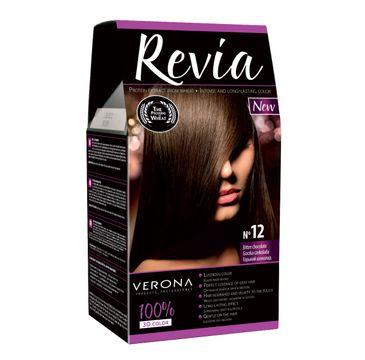 Verona farba do każdego typu włosów nr 12 gorzka czekolada 50 ml
