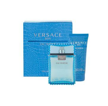 Versace Man Eau Fraiche zestaw prezentowy woda toaletowa spray 100 ml + żel pod prysznic 100 ml