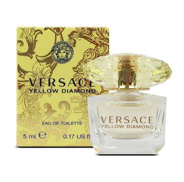 Versace Yellow Diamond woda toaletowa miniatura (5 ml)