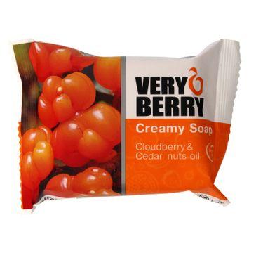 Very Berry Cloudberry & Cedar Nuts Oil mydło do każdego typu skóry kremowe w kostce 100 g