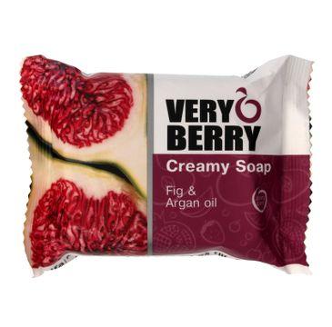 Very Berry Fig & Argan Oil mydło do każdego typu skóry kremowe w kostce 100 g