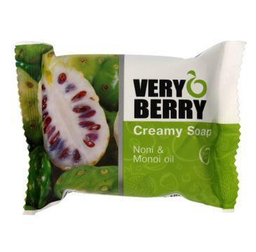 Very Berry Noni & Monoi Oil mydło do każdego typu skóry kremowe w kostce 100 g