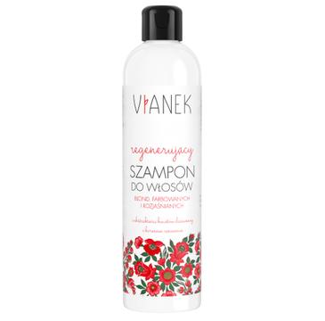 Vianek Regenerujący szampon do włosów farbowanych i rozjaśnianych (300 ml)