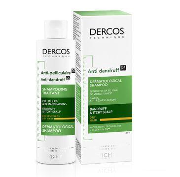 Vichy Dercos Anti-Dandruff Shampoo szampon przeciwłupieżowy do włosów suchych (200 ml)