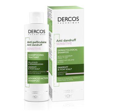 Vichy Dercos Anti-Dandruff Shampoo szampon przeciwłupieżowy do wrażliwej skóry głowy (200 ml)