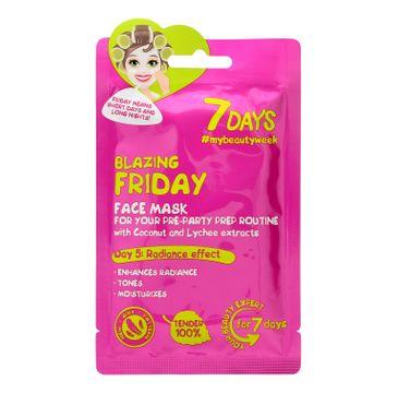 Vilenta – Maska do twarzy Blazing Friday z wodą kokosową i liczi (28 g)