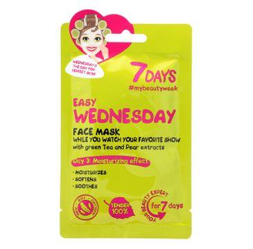 Vilenta – Maska do twarzy Easy Wednesday z białą herbatą i gruszką (28 g)