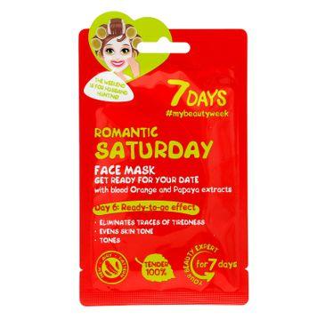 Vilenta – Maska do twarzy Romantic Saturday z pomarańczą i papają (28 g)