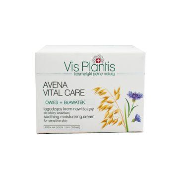 Vis Plantis Avena Vital Care krem nawilżający na dzień do cery wrażliwej 50 ml
