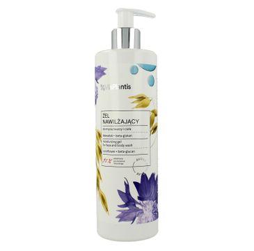 Vis Plantis Avena Vital Care żel nawilżający do mycia twarzy i ciała 400 ml