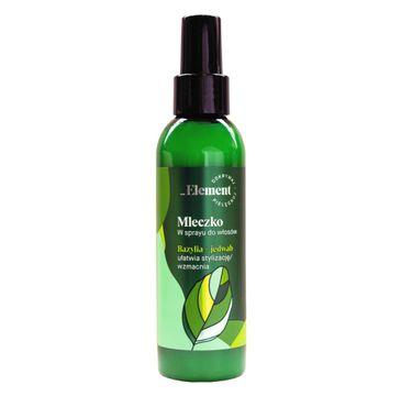 Vis Plantis Basil Element mleczko wzmacniające przeciw wypadaniu włosów (150 ml)