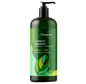 Vis Plantis Basil Element szampon wzmacniający przeciw wypadaniu włosów (500 ml)