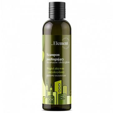 Vis Plantis Element Wyciąg z Kiełków Rzeżuchy szampon do włosów z węglem aktywnym przeciw zanieczyszczeniom (300 ml)