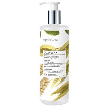 Vis Plantis Herbal Vital Care odżywka do włosów osłabionych (pestki dyni-pszenica-owies) 400 ml